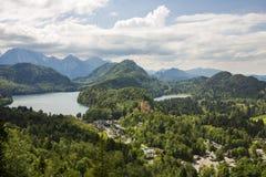 Nature landscape. Nature lanscape in Bavaria, Germany Stock Image