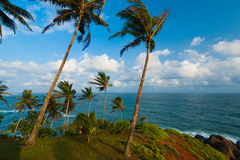 Nature Landscape Ocean Horizon Mirissa Sri Lanka Stock Photo