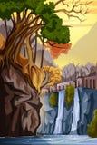 Nature Landscape scenery Background Stock Image