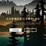 Nature and landscape. Summer landscape of nature. Stock Photos