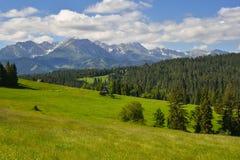 Nature landscape, Tatra mountains, Zakopane, Poland Royalty Free Stock Image
