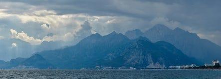 Nature landscape of Taurus rock mountains Stock Photo