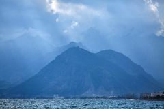 Nature landscape of Taurus rock mountains Stock Images