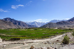 Free Nature Landscape With Mountain Background Along The Highway In Leh Ladakh, India Royalty Free Stock Photo - 97025425