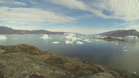 Nature and landscapes of Greenland. stock footage