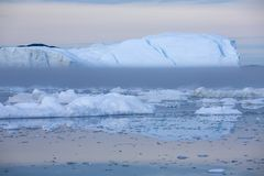 Ices and icebergs royalty free stock photo