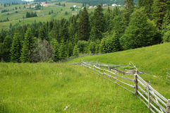 Nature, Lanscape. Beautiful lanscape from Transilvania, Romania and Dracula's Castel Stock Image