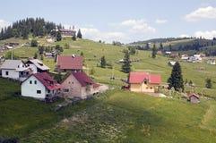 Nature, Lansdcape , house. Beautiful view from Transylvania, Romania Royalty Free Stock Photo