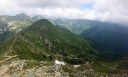 Nature élevée de tatras sur la Slovaquie Image libre de droits