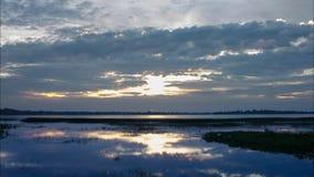 Nature, lever de soleil, laps de temps banque de vidéos