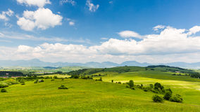 Nature in Liptov region, Slovakia in summer 2015 Stock Images