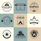 Nature Logo Collection Royalty Free Stock Photography