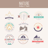 Nature Logo Collection Stock Image