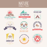 Nature Logo Collection Royalty Free Stock Photo
