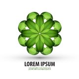 Nature. logo, icon, sign, emblem, template Royalty Free Stock Photo