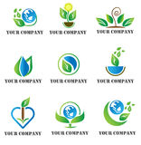 Nature Logo template. This logo is easy to costumize, great with your design for nature design, and additional format in EPS10 stock illustration
