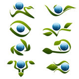 Nature Logos Stock Images
