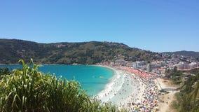 beautiful Arraial beach `prainha` stock images