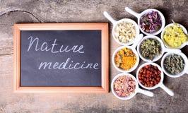 Nature medicine Stock Photos