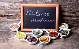 Nature medicine Royalty Free Stock Photography