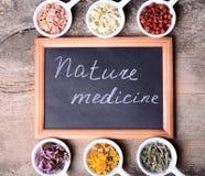 Nature medicine Royalty Free Stock Image