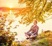 Nature meditation Royalty Free Stock Photo