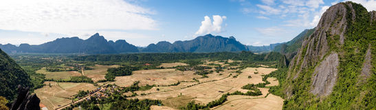 Nature merveilleuse au Laos Photo stock