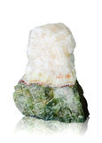 Nature mineral of jade stone with clipping path. Stock Images