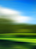 Nature motion blur background Royalty Free Stock Photography