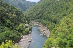 Nature mountain Kyoto Japan Royalty Free Stock Photo