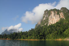 Nature of Mountain and lake. Stock Photography