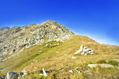 Nature Mountain Landscape in Carpathian Mountains Stock Photography