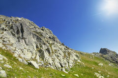 Nature Mountain Landscape in Carpathian Mountains Royalty Free Stock Images