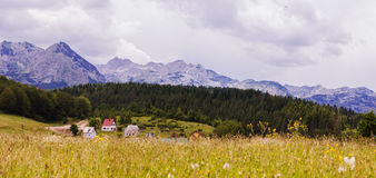 Nature Mountain Landscape Montenegro Stock Photos