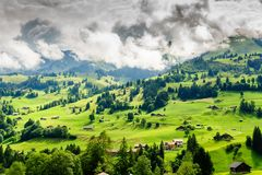 Nature, Mountainous Landforms, Grassland, Sky royalty free stock photography