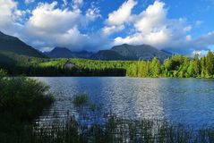 Nature mountains Slovakia Stock Photo