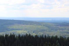 Nature of national park Koli Royalty Free Stock Photos
