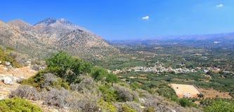 Nature near village Melidoni at Crete, Greece Royalty Free Stock Images