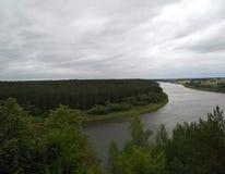 Nature Nemunas river royalty free stock photography