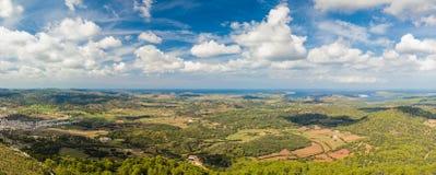 nature normale de montagnes d'horizontal d'Almeria Andalousie cabo de desert gata d'agave près d'Espagnol de centrale de stationn Photographie stock libre de droits