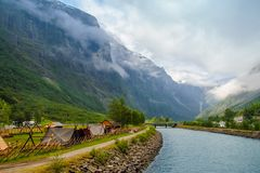 The nature of Norway Royalty Free Stock Photos