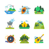 Nature, outdoor and forest activities  Royalty Free Stock Photo