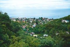 Nature. The nature and panoramas of Abhazia stock image