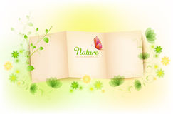 Nature Paper Background Stock Photo