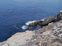 Nature park Ajuy on Fuerteventura Stock Photos
