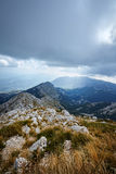 Nature Park Biokovo on Dalmatian coast Royalty Free Stock Image