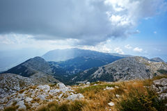Nature Park Biokovo on Dalmatian coast Royalty Free Stock Images