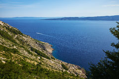 Nature Park Biokovo on Dalmatian coast Royalty Free Stock Photos