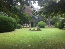 Nature Park in Gijon Asturias Spain royalty free stock photo