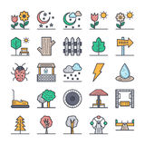 Nature, Park, Plants, Trees Vector Icons 2. Go green and b eco friendly with these brand new nature, park, plants and tree icons  set. You will love using these Stock Images